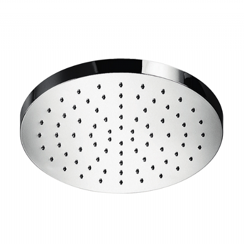 Abacus Temptation Round Shower Head - 250mm Wide - Chrome